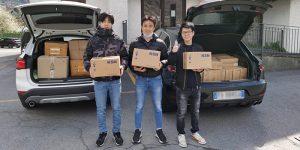 Donazione comunità cinese