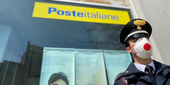 Carabinieri consegnano pensione
