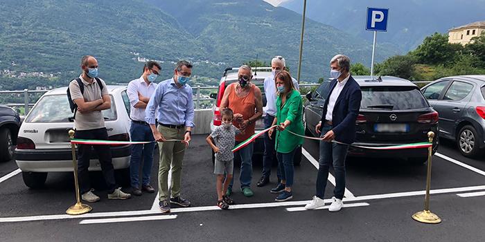Inaugurazione parcheggio sant anna